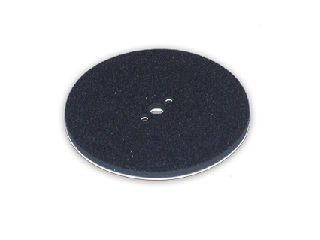 st2_02578_3 3 Hole Abrasive Pad loop Back (6mm / 1/4″ Thick)